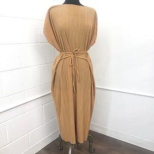 Zara Gold Maxi Dress